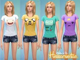 Sims 4 Kawaii T Shirt - Drone Fest