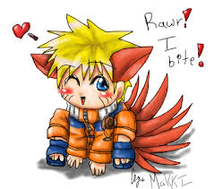 anime chibi naruto nine tails. Naruto Tails Chibi By MakkiCHAN On DeviantArt Throughout Anime Nine