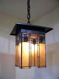 arts and crafts style landscape lighting. full image for arts and crafts style lantern with hammered copper art glass landscape lighting t