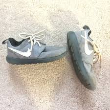 nike 8c. nike roshes kids toddler grey size 8c nike 8c