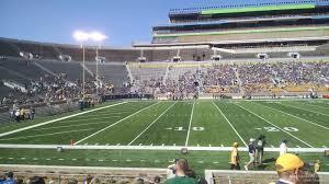 Notre Dame Stadium Section 12 Rateyourseats Com