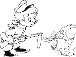 Wolf Coloring Page Coloring Pages Wolf Amusing Big Bad Wolf Coloring