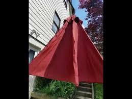 cantilever patio abba patio 11 foot diameter cantilever patio umbrella is very