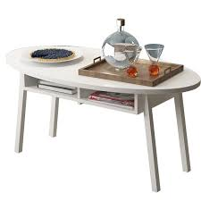 Nordic Modern Simple Living Room Coffee Table Oval Mini Cornertea