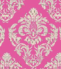 Pink Damask Wallpaper Bedroom Financial Newspaper Digital Damask Wall Paper Pattern Design L