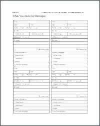 Telephone Message Pad Template Atlasapp Co