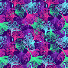 Floral Flowers And Leaves Background In ...