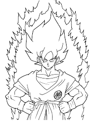 Small Picture best Dragon ball z Coloring pages for kids boys and girls Ideas