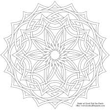 Small Picture Celtic Mandala Coloring Pages Printable Images Pictures 25617