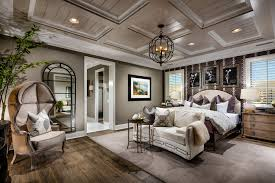 Cool Small Chandeliers For Bedrooms Elegant Grey Master Bedroom In Tuscan  Style With Old Metal Chandelier ...