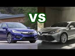 camry 2018 vs 2017. 2018 toyota camry vs 2017 honda accord 1