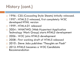 HTML5, OVERVIEW AND NEW FEATURES PowerPoint by Mason O'Mara. - ppt ...