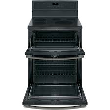 ge profile 66 total cu ft self clean double oven range with lower convection ge profile double oven r65