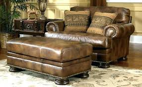 brown leather chair and a half rustic leather sofas rustic leather armchair chair and a half