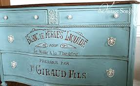 antique painted furnitureGorgeous Hand Painted Dresser  Reader Featured Project  The