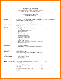 7 Dental Assisting Resume Quit Job Letter