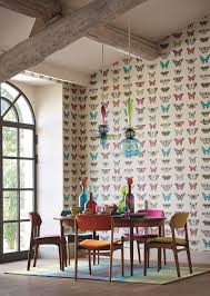 Papilio #wallpaper Design From The New Harlequin Collection.