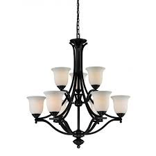 z lite lagoon 9 light chandelier in bronze
