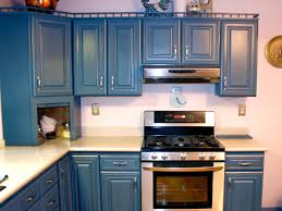 Blue Painted Kitchen Cabinets Kitchen Cabinets Lowes As Painted Kitchen Cabinets And Lovely