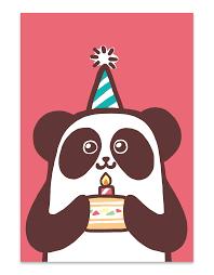 Happy Birthday Pink Panda