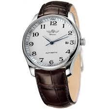 aliexpress com buy winner watches classic mens auto date winner watches classic mens auto date automatic mechanical watch self winding analog skeleton brown leather