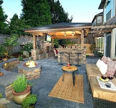 Landscape Backyard Design Interesting Modern Patio Designs Blocks Outdoor Ideas Uk Repinology