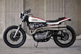 yamaha xs650 flat tracker bike exif