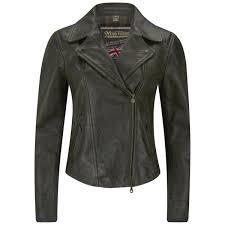 matchless women s soho leather blouson jacket black image 1