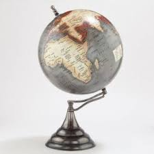 world globe on stand. World Globe Stand On