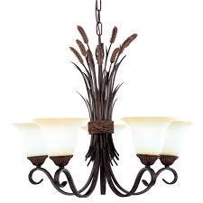 charming bronze chandelier 4