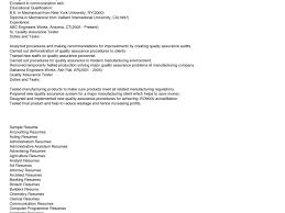 Qa Resume Sample Entry Level. best software testing cover letter ...