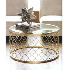 gold and glass coffee table appealing round gold coffee table lovable round gold coffee table gold gold and glass coffee table