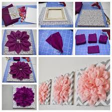 3d felt flower wall art f
