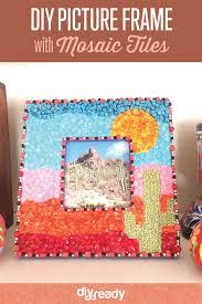 diy kids mosaic art