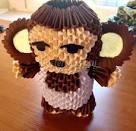 Как сделать обезьянку из картона своими руками