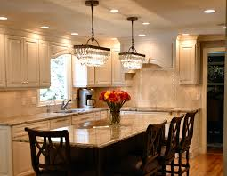 Lighting For Kitchen Table Best Lighting For Kitchen View In Gallery White Kitchen Under