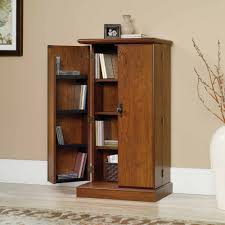 Cherry Wood Dvd Storage Cabinet Sauder Orchard Hills Multimedia Storage Cabinet Milled Cherry