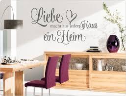 Wandtattoo Liebe Macht Aus Jedem Haus Ein Heim I Love Wandtattoode