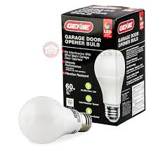 genie ledb1 r garage door led light bulb 39438r