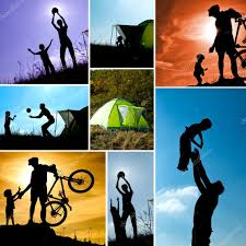 outdoor activities collage.  Outdoor Family Camping Collage Set Of Pictures With Child And Parents Outdoor  Activities Active Healthy Family Concept U2014 Photo By HotPhotoPie With Outdoor Activities Collage E