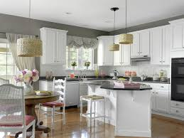 Decorating Kitchen Color Ideas With White Cabinets Modern Kitchen