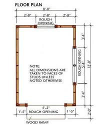 8 12 storage shed plans blueprints