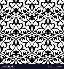 Arabesque Pattern Extraordinary Seamless Arabesque Pattern Royalty Free Vector Image
