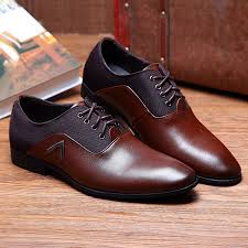 us size 6 5 10 5 men business shoes leather comfortable pointed toe casual soft leather shoes