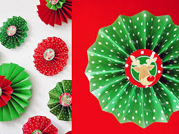 Paper Rosette Flower How To Make Folded Paper Rosettes Hgtv
