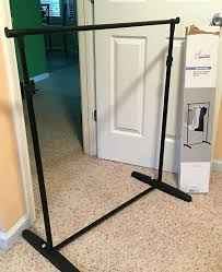 diy frame stand photo booth frame stand diy free standing mirror frame