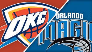 Orlando Magic Vs Oklahoma City Thunder Amway Center
