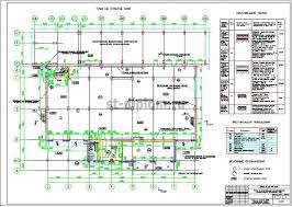 Диплом ПГС промышленное здание завод по производству  3 План на отм 0 000
