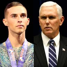 Mike Pence Tweets Figure Skater Adam ...