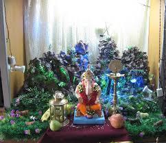 creative ideas for ganpati decoration at home home ideas